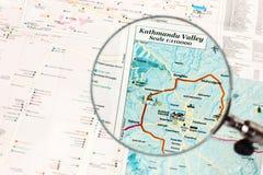 Points de repère de la vallée de Katmandou Photos stock