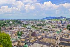 Points de repère de Salzbourg, Autriche photo stock