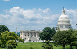 Points de repère américains dans le Washington DC Photographie stock