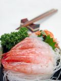 Points de vue japonais de nourriture images stock