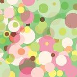 Points en pastel Image libre de droits