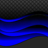 Fond élégant de ruban bleu images stock