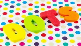 Points et points de polka photo libre de droits