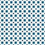 Points faits ou bleu-foncé de modèle sans couture de polka et foncé bleu et Photos libres de droits