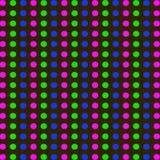 Points lumineux Images libres de droits