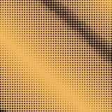 Points noirs sur le fond orange, art de bruit Photos stock