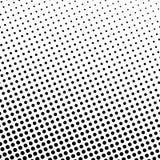 Points noirs sur un fond blanc Photos libres de droits