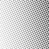 Points noirs sur un fond blanc, art de bruit Photos stock