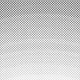 Points noirs sur un fond blanc, rétro style Images stock