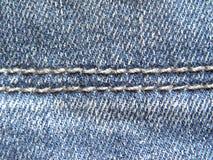 2 points sur des jeans images libres de droits