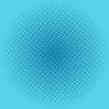 Points sur le fond bleu, bruit Art Background Photos libres de droits
