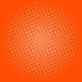 Points sur le fond orange, bruit Art Background Illustration Stock
