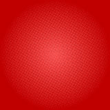 Points sur le fond rouge, bruit Art Background Illustration de Vecteur