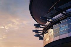 Pointy Futuristic Building Royalty Free Stock Photos