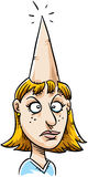 Pointy Head Stock Image