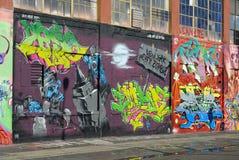 pointz 5 надписей на стенах Стоковое Фото