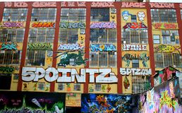 5pointz Royaltyfria Foton