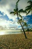 Poipu海滩公园,考艾岛, hawai'i 库存图片