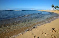 Poipu海滩 免版税库存照片
