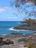 Poipu, Hawaii. The coast of Poipu on the island of Kauai, Hawaii Royalty Free Stock Photo