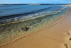 Poipu strand Arkivbilder