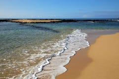 Poipu strand Royaltyfria Foton