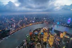 Poire de Changhaï le fleuve Huangpu Oriental photos stock