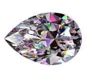 Poire de diamant Image libre de droits
