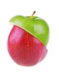 Poire et pomme mélangées photo libre de droits