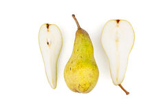Poire, fruit, vitamines Images stock