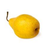 Poire jaune. Image stock