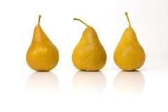 3 poires Photo libre de droits