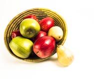Poires et pommes 4 Photographie stock libre de droits
