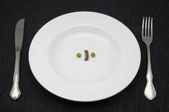 Pois de nourriture Photographie stock libre de droits