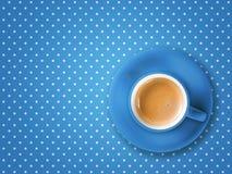 Pois do copo de café Imagem de Stock