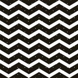 Pois senza cuciture con il modello di zigzag del gallone Banda geometrica con i cerchi Appena goccia ai campioni e godere dell'EN royalty illustrazione gratis
