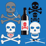 Poison addiction Stock Images