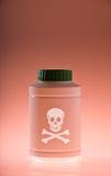 Poison bottle Royalty Free Stock Photos