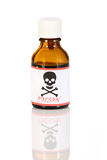 Poison bottle Stock Image