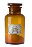 poison de verre à bouteilles Photos stock