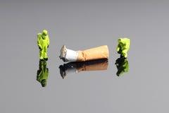Poison en cigarette photographie stock libre de droits