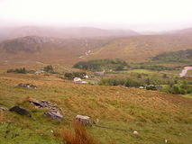 Poison Glen, Donegal, Ireland. A view of the Poison Glen on a fine soft day in Donegal, Ireland stock photography
