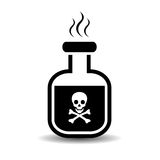 Poison icon Royalty Free Stock Photo