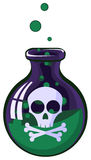 Poison Jar Royalty Free Stock Images