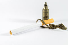 Poison Noose Cigarette! Royalty Free Stock Image