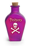 Poison On White Royalty Free Stock Photos