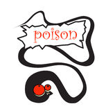 Poison snake Stock Photos