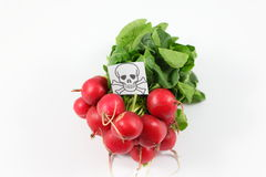 Poisoned fruits and vegetables Stock Photo