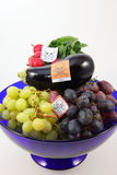 Poisoned fruits and vegetables Royalty Free Stock Photo
