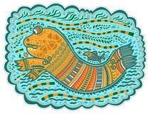 Poisson-chat décoratif Images libres de droits